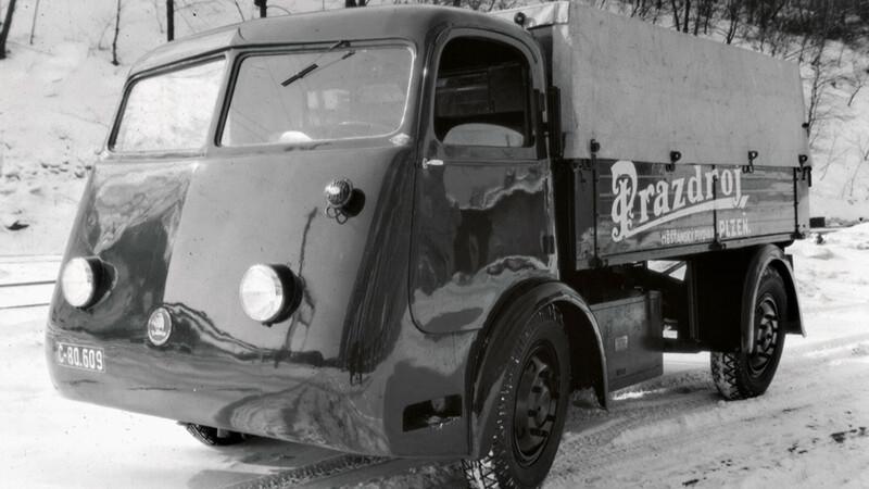 El primer eléctrico de Skoda fue un camión repartidor de cervezas de 1939