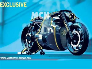 Lotus C-01, la moto deportiva que vuela