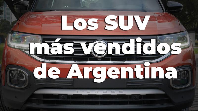 Los SUVs más vendidos en Argentina en noviembre de 2020