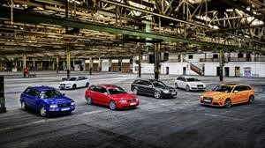 Audi festeja 25 años de sus versiones RS