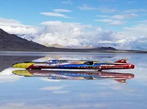 Conoce el Turbinator II, el vehículo de cuatro ruedas más rápido del mundo