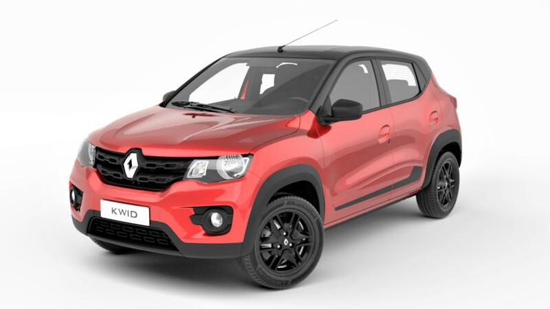 Renault Kwid Iconic, nueva versión bitono