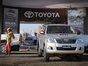 Toyota Argentina con asistencia perfecta en Expoagro