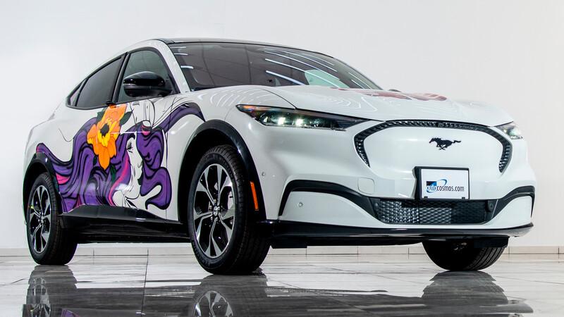 Ford Mustang Mach-E, una obra de arte creada y fabricada por mujeres