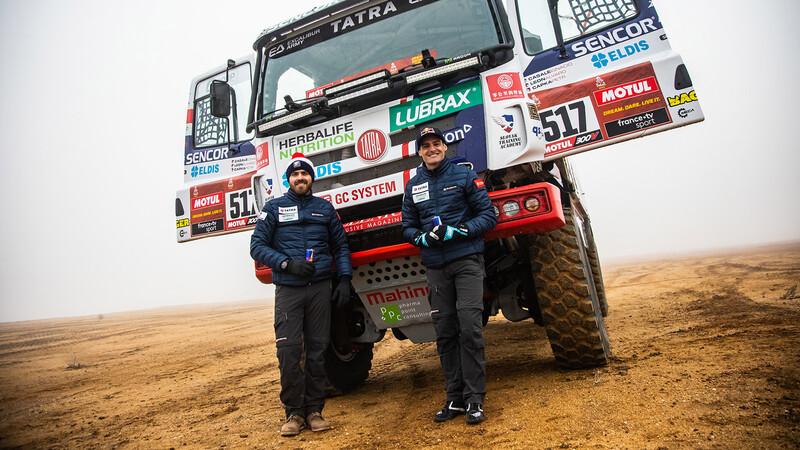 Ignacio Casale volverá a los camiones en el Dakar 2021