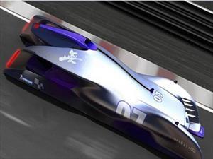 Infiniti se quedó con el concurso de diseño de Michelin en Le Mans