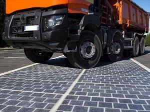 Paneles solares… ¿sobre las rutas?