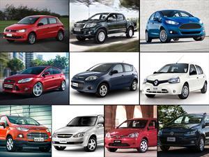 Top 10 los autos más vendidos en Argentina en abril de 2015