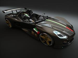 Dubái Roadster Concept, un exótico siete estrellas