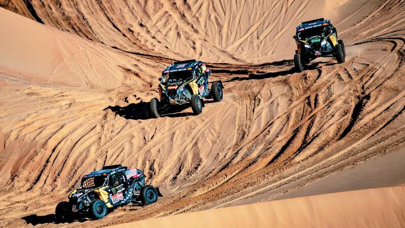 Dupla colombiana correrá el Dakar 2021 en SSV