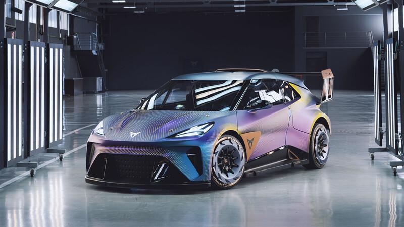 CUPRA UrbanRebel Concept, un eléctrico urbano convertido en auto de carreras