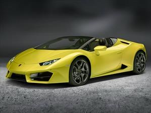 Lamborghini Huracán LP 580-2 Spyder debuta