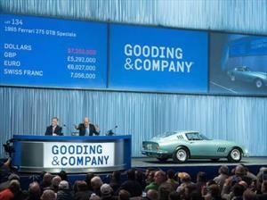 Los autos más caros subastados de Scottsdale
