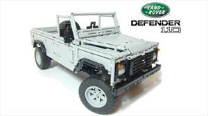 Conoce el Land Rover Defender 110 construido con piezas de LEGO
