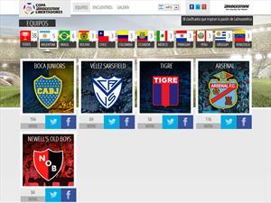 Arrancó la Copa Bridgestone Libertadores 2013