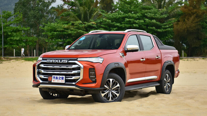 Maxus lanza la nueva pick-up T90 en China
