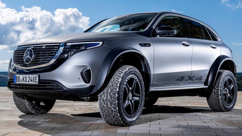 Mercedes-Benz EQC 4x4 Concept es un SUV todoterreno totalmente eléctrico