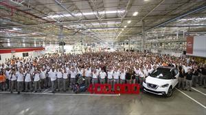 Nissan produce su unidad 400,000 en la planta de Resende, Brasil