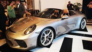 Porsche 911 Speedster llega a México, una joya para muy pocos