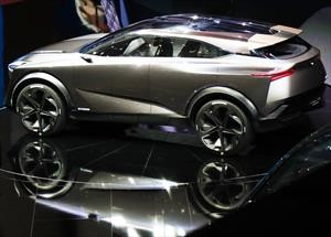 Nissan IMq, coqueteando con la idea de una Qashqai híbrida