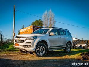 Chevrolet Trailblazer 2018 en Chile, un SUV en serio