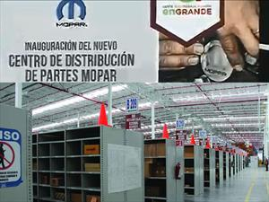 FCA México inaugura nuevo Centro de distribución de partes Mopar