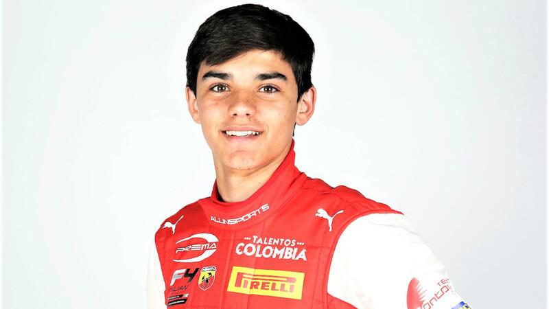 Sebastián Montoya debuta en la F4 italiana