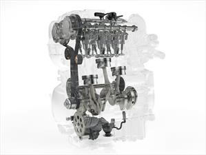 Volvo crea un eficiente motor a gasolina de 3 cilindros