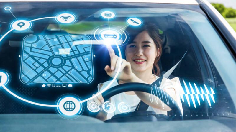 Los parabrisas de los vehículos del futuro según Apple