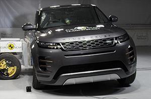 Land Rover Range Rover Evoque obtiene 5 estrellas en pruebas de Euro NCAP