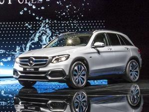 Mercedes-Benz GLC F-Cell, un híbrido plug-in con pila de combustible