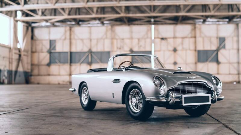 Aston Martin DB5 Vantage Junior, el auto de juguete eléctrico del 007