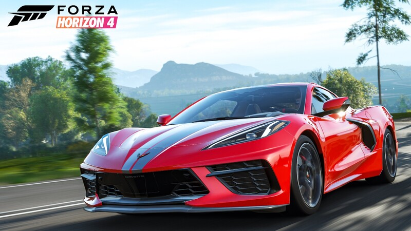 Chevrolet Corvette Stingray llega al videojuego Forza Horizon 4