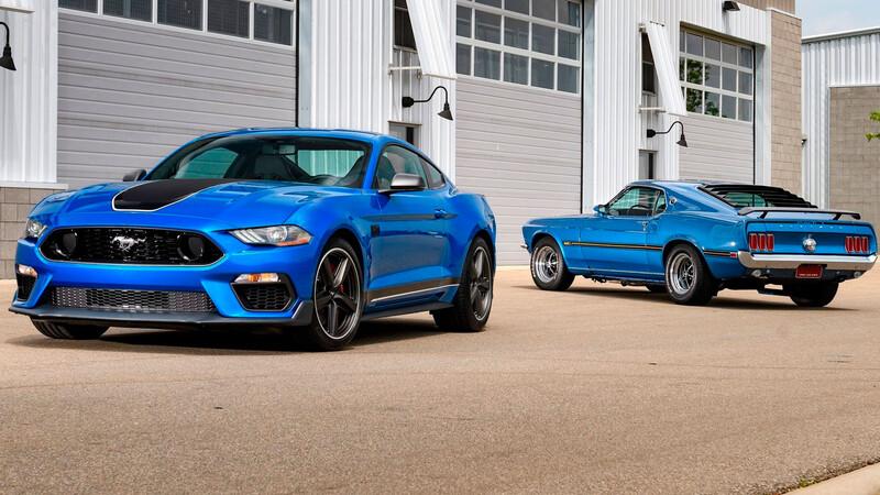 Pese el avance de la electrificación, el Ford Mustang conservará el V8 por un largo tiempo