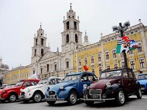 Citroën celebra 100 años de existencia con una reunión muy especial