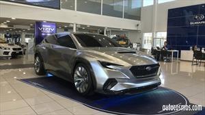 Subaru Viziv Tourer Concept está de gira en Chile