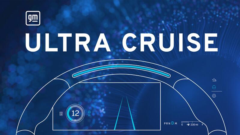 General Motors presenta Ultra Cruise, un nuevo asistente de manejo