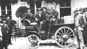 Así se vivió la primera carrera de autos de la historia