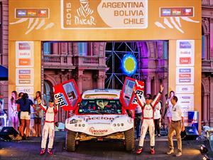 ACCIONA 100% EcoPowered el vehículo cero emisiones en el Dakar 2015