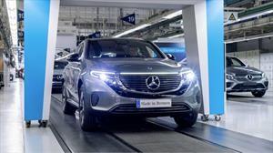 Da inicio la producción del Mercedes-Benz EQC, primer SUV eléctrico de la marca