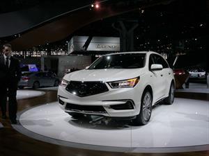 Acura MDX 2017 recibe un ligero facelift
