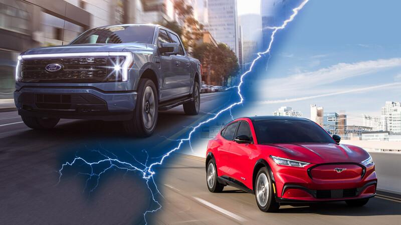 Ford gana muchos clientes de la mano de sus modelos eléctricos