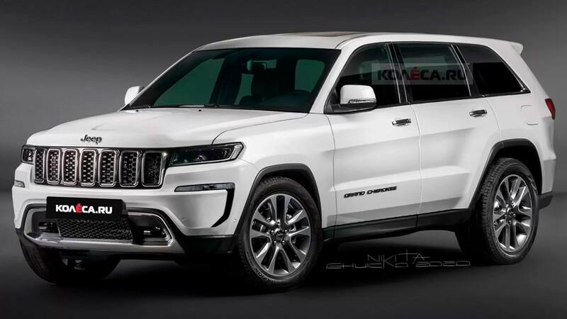 Así podría lucir la nueva Jeep Grand Cherokee 2022