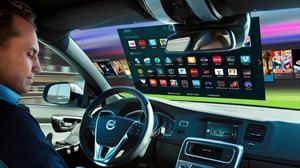 Los parabrisas del futuro podrían transformarse en verdaderas pantallas multimedia