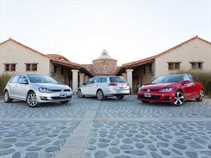 Devoramos asfalto con la gama VW Golf en Cafayate