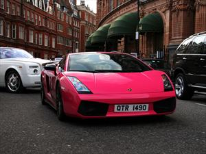Pink Lamborghini Gallardo Superleggera, el toque femenino a la velocidad