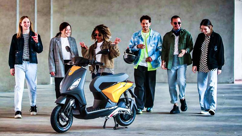 Piaggio One: la segunda scooter eléctrica del grupo ya está aquí
