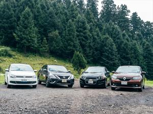 Comparativa: Renault Logan vs Volkswagen Vento vs Nissan Versa vs Chevrolet Sonic