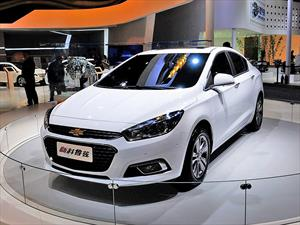 Nuevo Chevrolet Cruze 2015: Debut en China