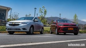 Comparativa Chevrolet Sail vs Kia Soluto: ¿cuál es el sedán definitivo?